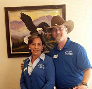 Darryl Shelton and Pilar Suarez