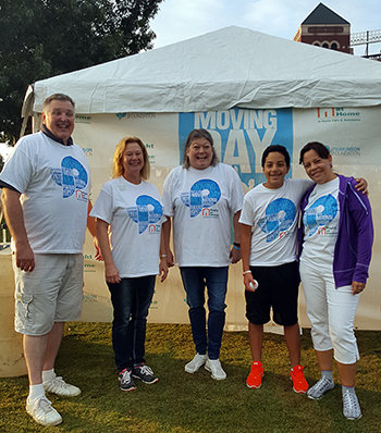 Parkinson's Moving Day Booth