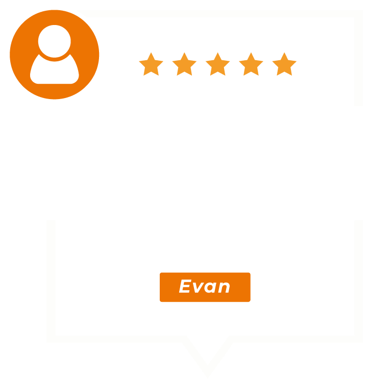 Right at Home Palm Beach testimonial from Evan