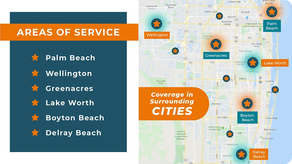 Service Areas Palm Beach