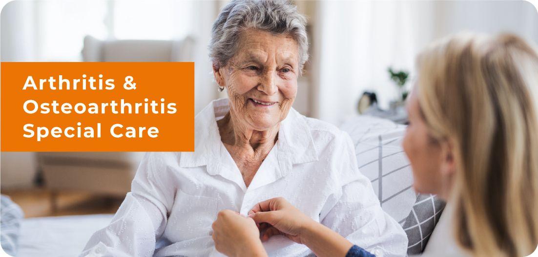 Arthritis and Osteoarthritis Banner
