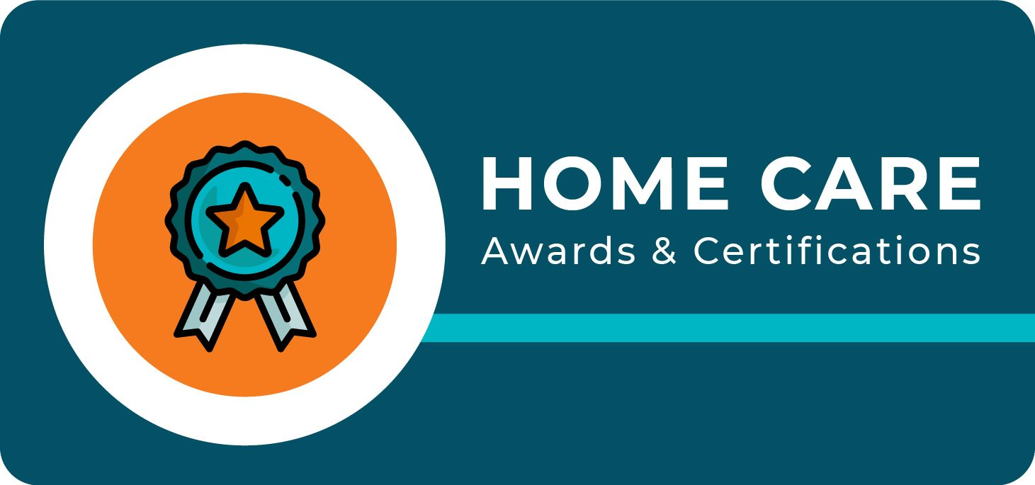 Home Care Awards and Certifications Banner