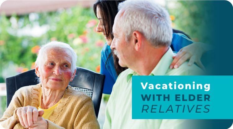 take a vacation banner
