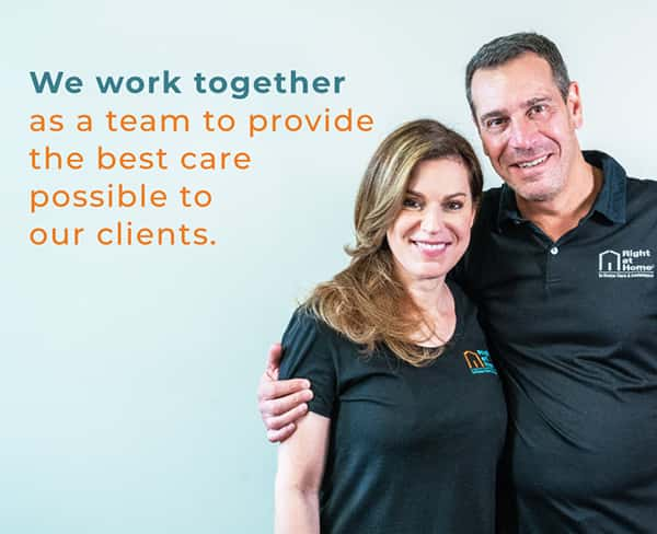 we work together as a team