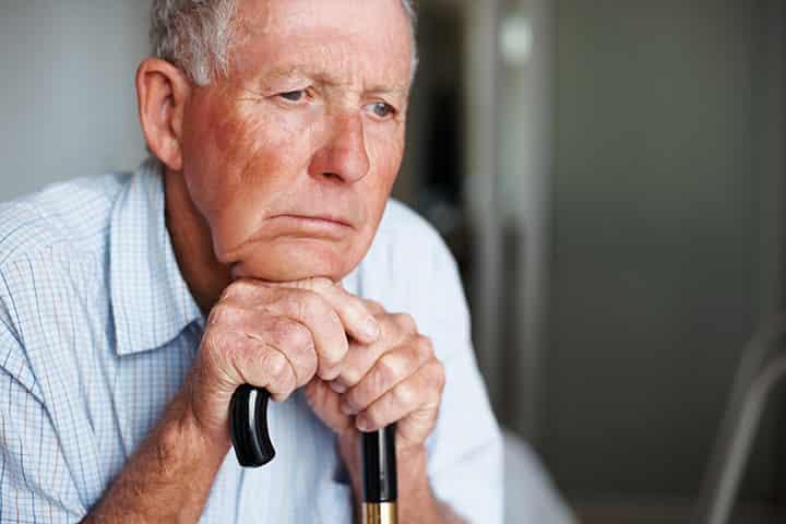 Alzheimers patient