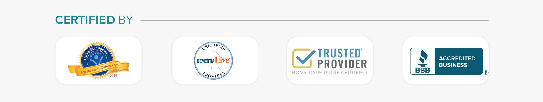 Right at Home Palm Beach Business Accreditations