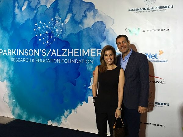 Bruce and Judy Gropper of Right at Home Palm Beach at the Parkinson's Alzheimers Research and Education Foundation