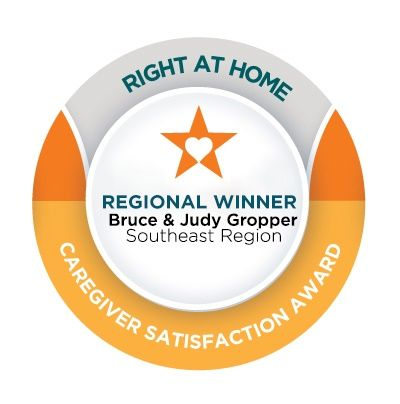 Right at Home Southeast Region Caregiver Satisfaction Award