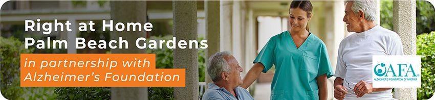 partnership with alzheimer's foundation banner