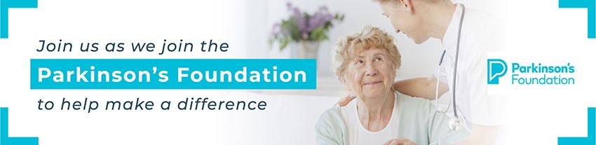 Parkinson's Foundation Banner
