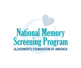 memory screening badge