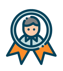 person award badge