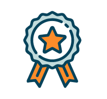 star award badge