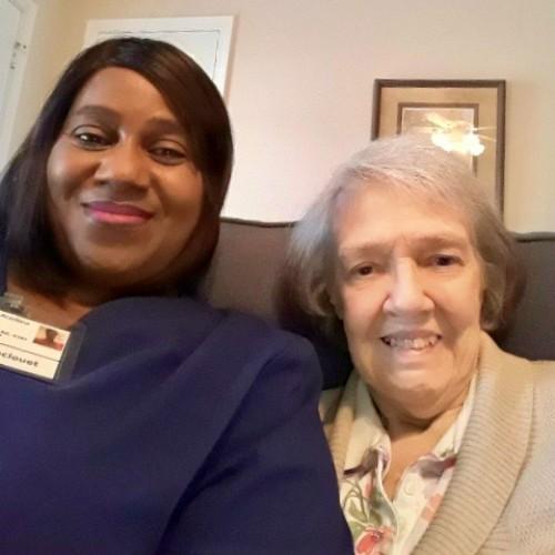 Caregiver Debra Delcouet