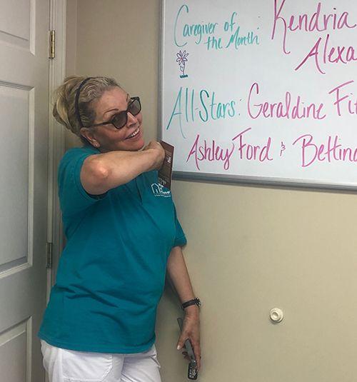 Caregiver Geraldine