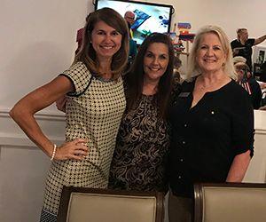 Jennifer Eisler with Anne Orsak and Kim St. Blanc