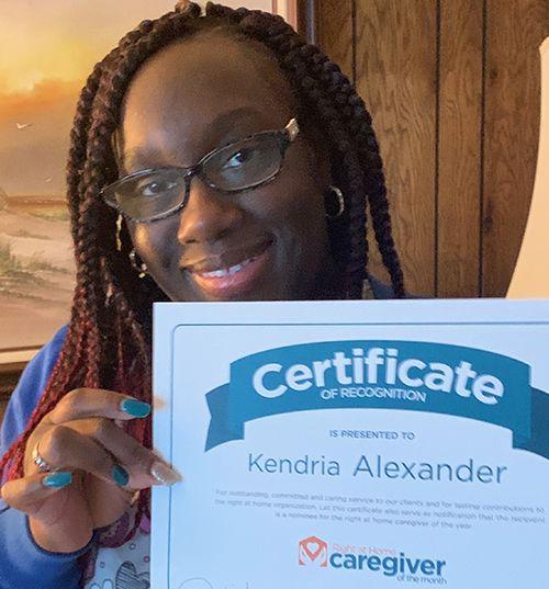 Caregiver Kendria