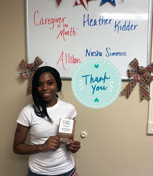 Caregiver Verneisha