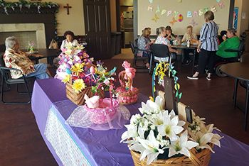 Easter Baskets at Buena Vista Senior Apartments of Cleburne