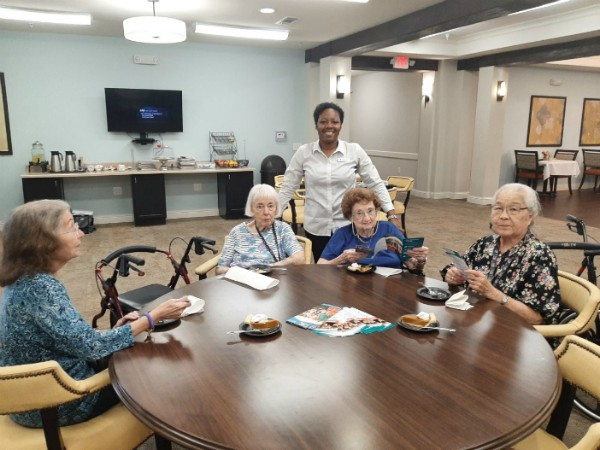 Heartis Assisted Living Cleburne Pumpkin Pie Social