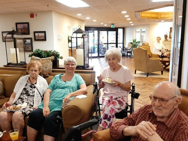 Heritage Place Independent Living Birthday Social