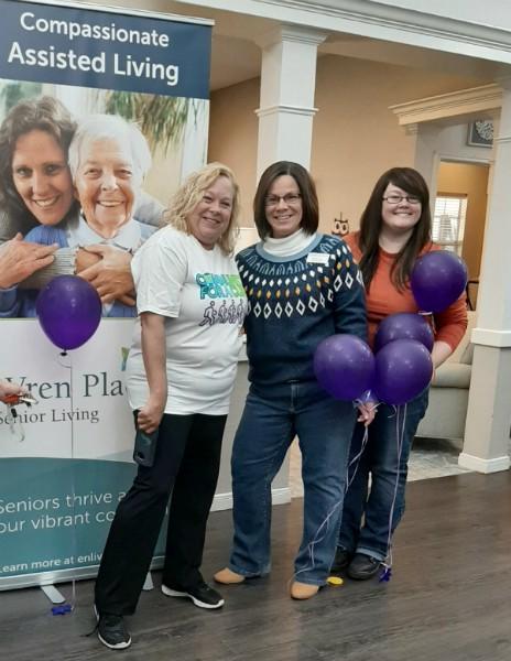 Wren Place Assisted Living Alzheimer's Walk