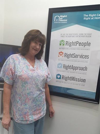 Caregiver of the Month - Marie
