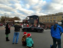 Local Pageant Winner Riding Through 2018 Belmont NC Christmas Parade