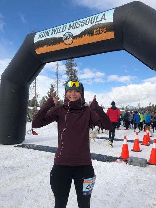 Ashlyn on Ski Slopes