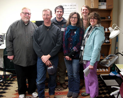 Vision training group photo