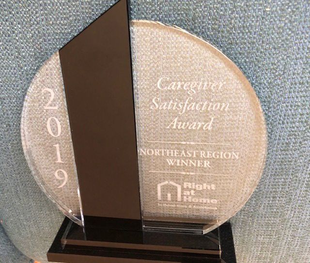 2019 Caregiver Satisfaction Award