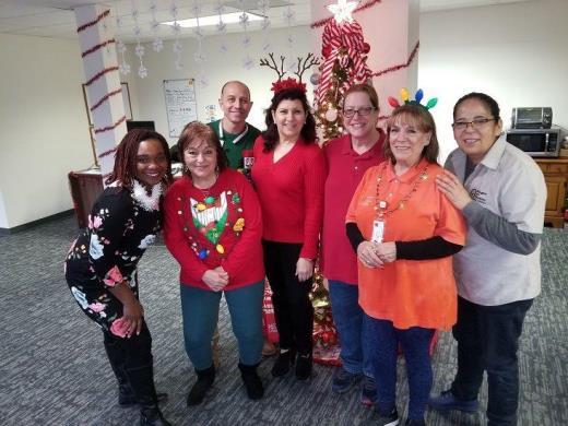 caregiver holiday celebration