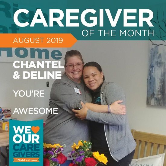 caregivers of the month
