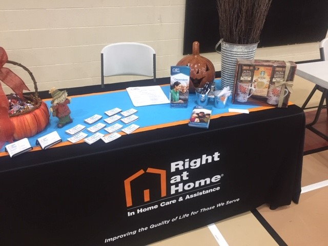 Senior Resource Fair Table