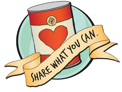 Share What You Can Food Drive