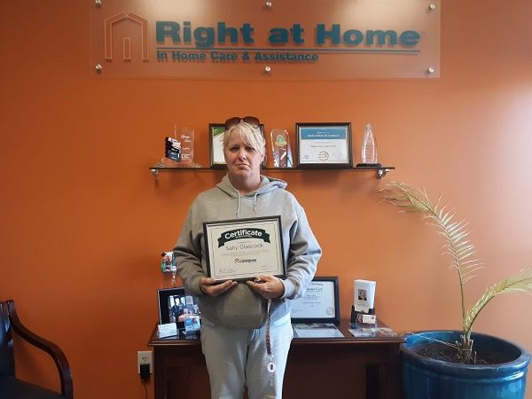 sally caregiver of the month