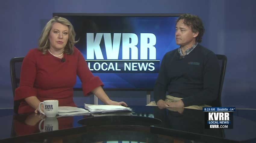 Barry Maring on KVRR
