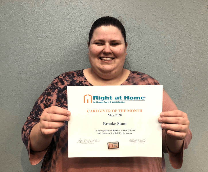 May Caregiver of the Month - Brooke