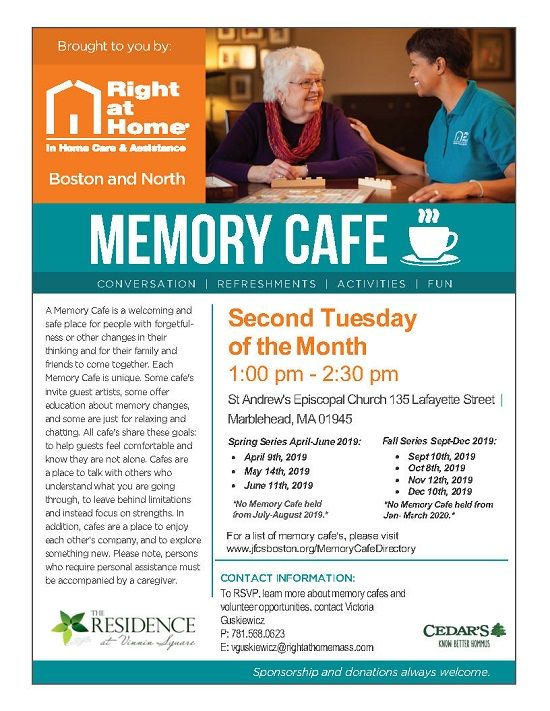 marblehead memory cafe