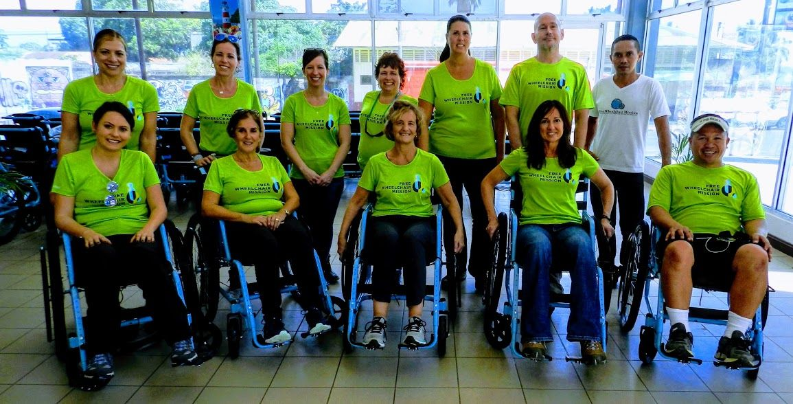 free wheelchair mission group