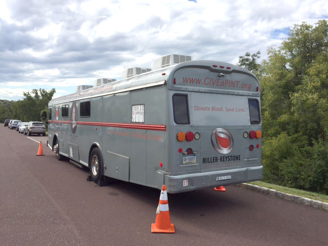 The Miller-Keystone Blood Center Mobile