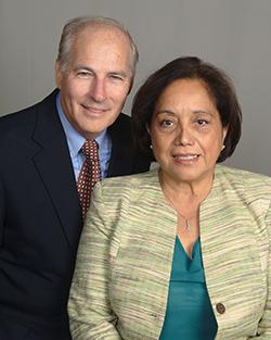 Charles and Ada Brown.