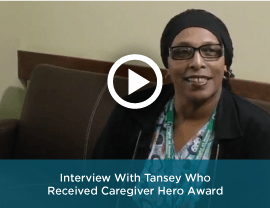 Interview with a caregiver