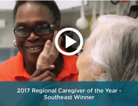 2017 Southeast Regional Caregiver of the Year