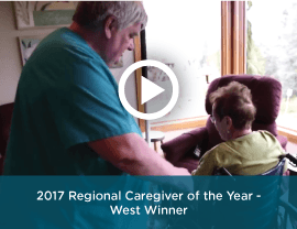 2017 West Regional Caregiver of the Year