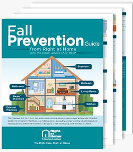 Fall prevention brochure.