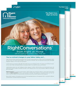 Right conversations brochure.