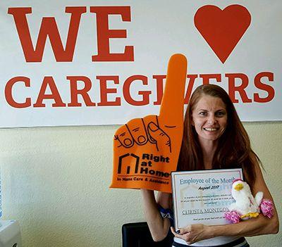 Caregiver Christa Montgomery