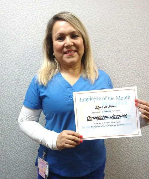 April Employee of the Month - Concepcion 'Connie' Jacques