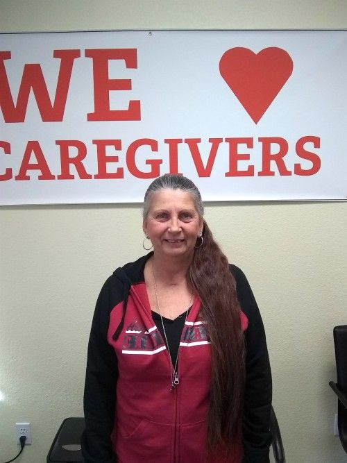 Cathy Henson - Caregiver of the Month December 2018